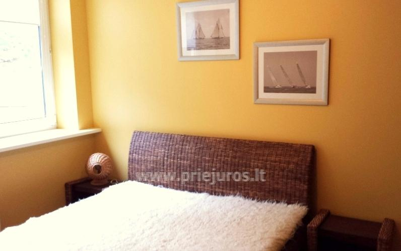 Two-bedroom apartment for rent in Juodkrante, near  lagoon and forest - 6