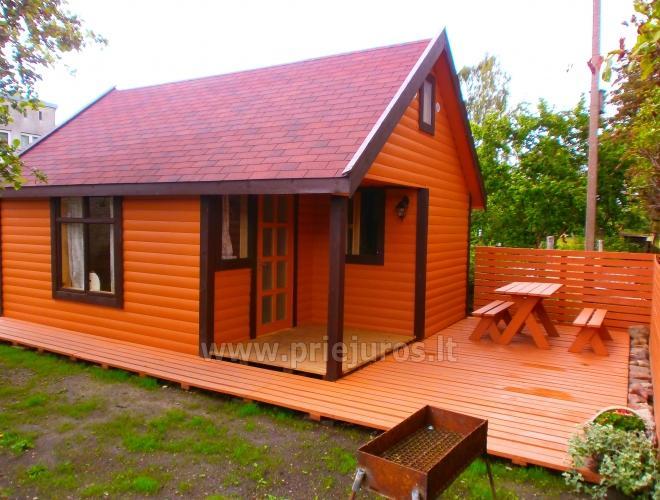 Land kleine Häuser in Sventoji
