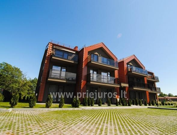 A New Apartment With A Terrace 250 M To The Sea In Palanga
