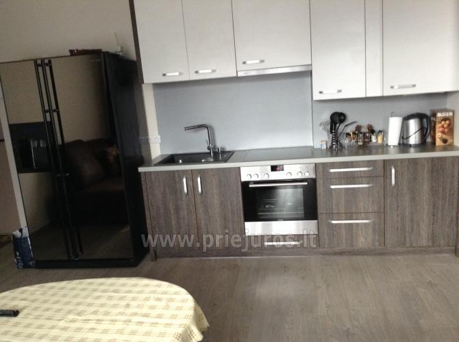 Naujas butas-apartamentai su terasa 250 m iki jūros Kungiškiuose - 4