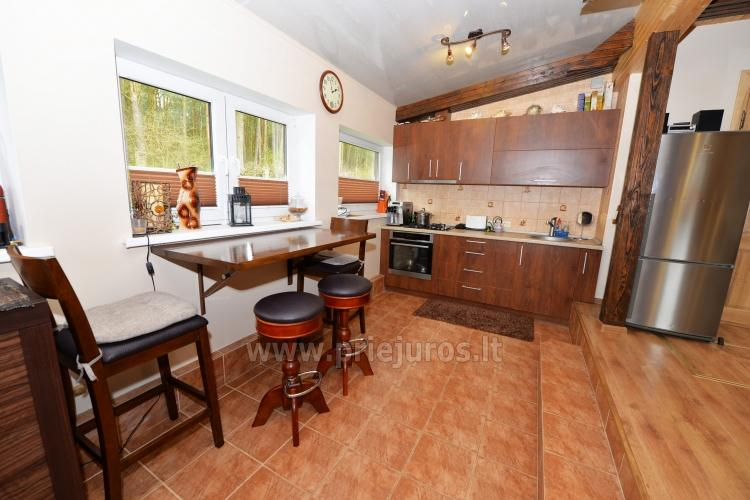 Cosy wooden house for rent in Smiltyne, surrounded by pine forest - 4