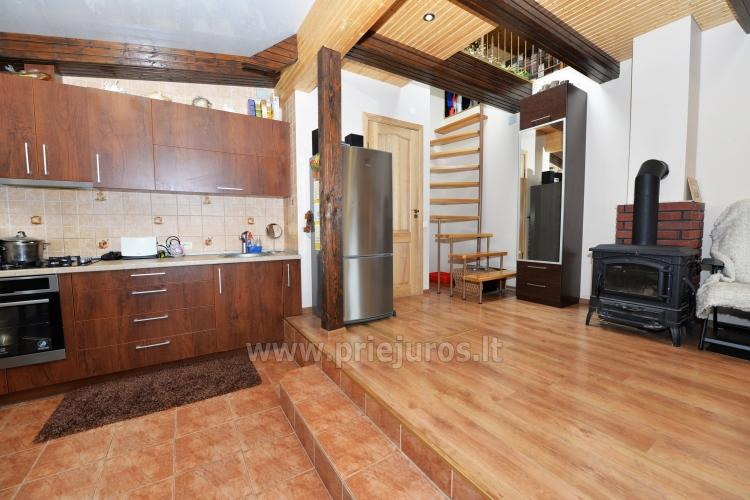 Cosy wooden house for rent in Smiltyne, surrounded by pine forest - 6