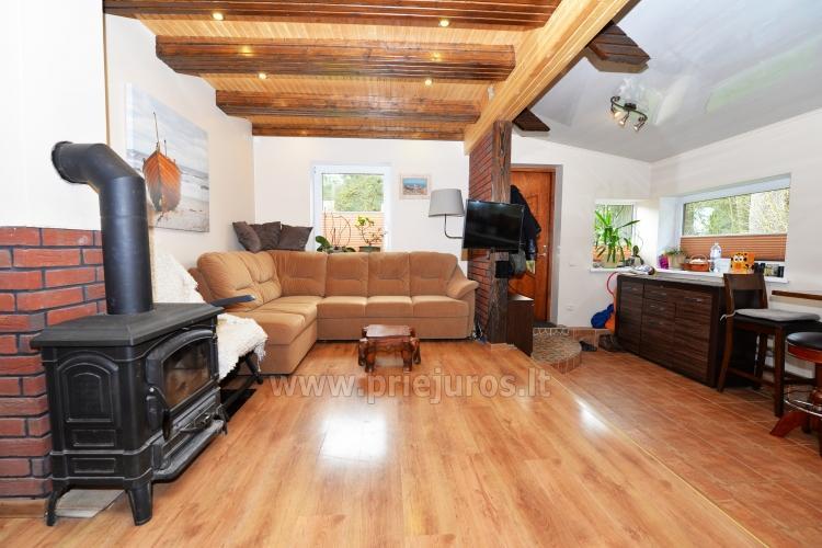 Gemütliches Holzhaus zu vermieten in Smiltyne, in der Mitte des Kiefernwaldes - 5