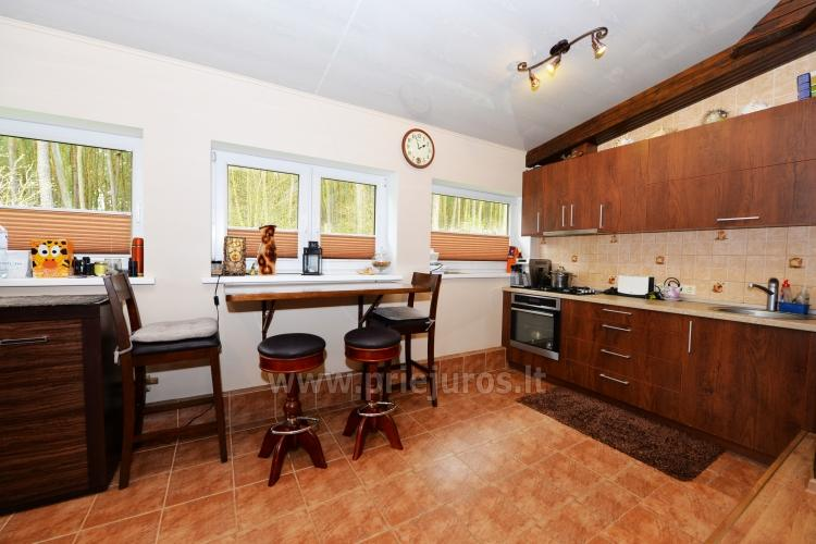 Cosy wooden house for rent in Smiltyne, surrounded by pine forest - 3