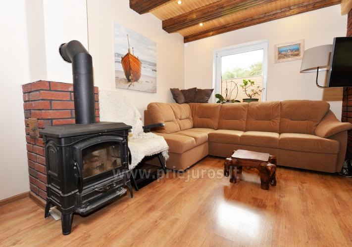Cosy wooden house for rent in Smiltyne, surrounded by pine forest - 2