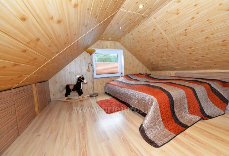 Gemütliches Holzhaus zu vermieten in Smiltyne, in der Mitte des Kiefernwaldes - 8