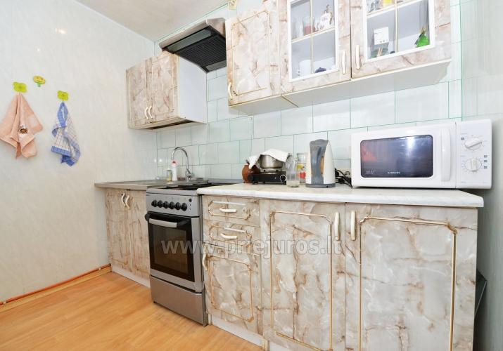One room for rent in a two-room apartment in Nida - 6