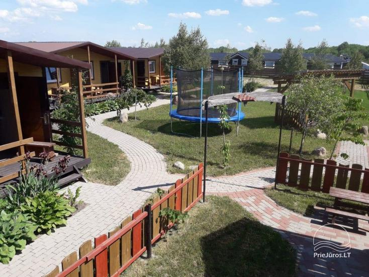 New bungalows with terraces in Sventoji Vasare - 14