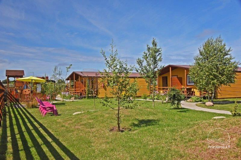New bungalows with terraces in Sventoji Vasare - 18