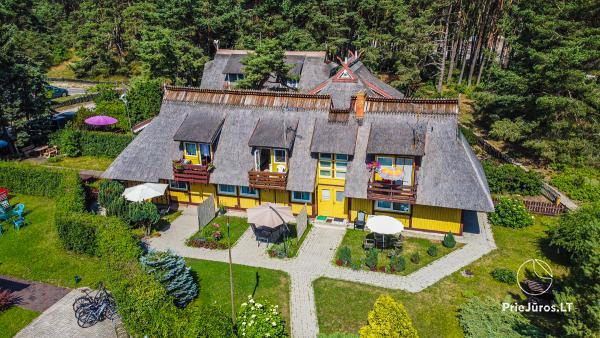 Ferienhaus DAINAVA in Pervalka. Wohnungen und Zimmer zu vermieten