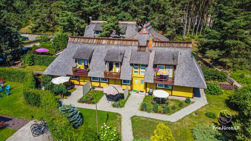 Holiday house DAINAVA in Pervalka. Apartments and rooms for rent