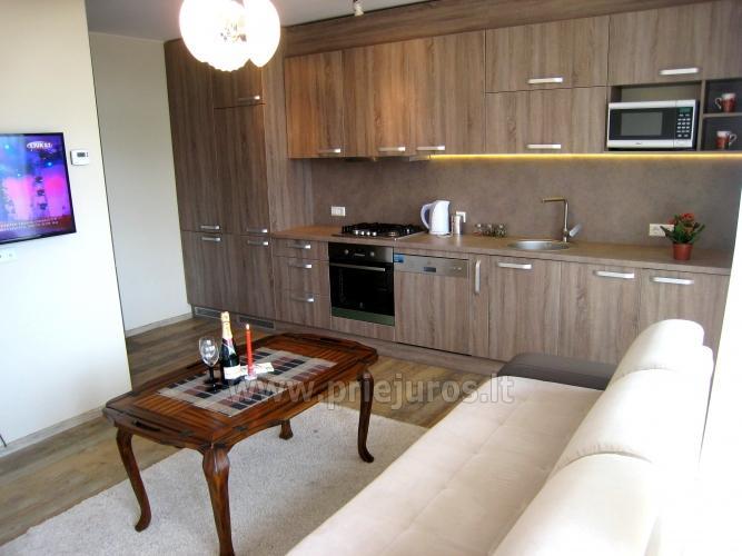 Modernaus 3 kambarių buto nuoma Palangoje, tik 350 metrų iki jūros!
