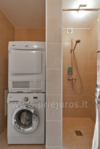 One room apartment with separate entrance for rent in Nida - 9