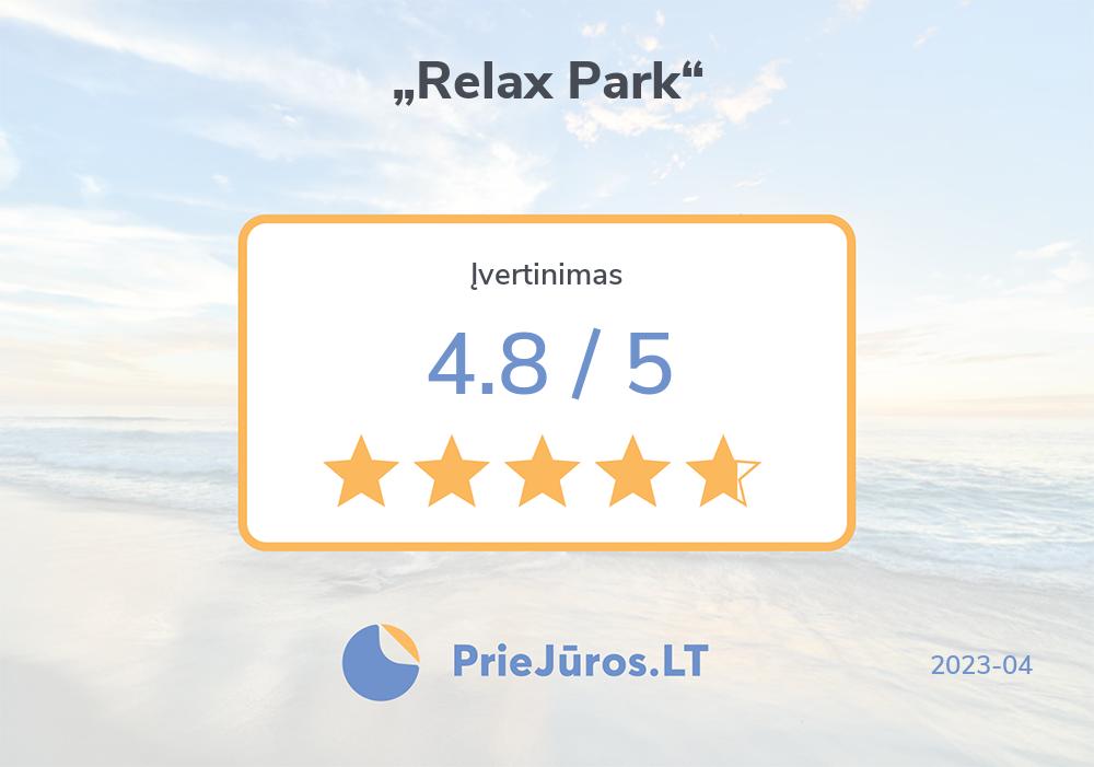 """Poilsiautojų atsiliepimai – """"Relax Park"""""""