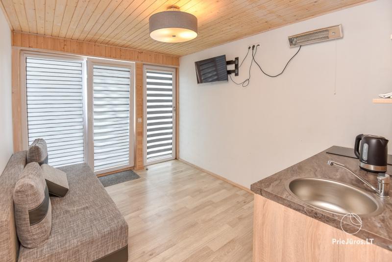 Relax Park. Zimmer, Apartments direkt am Meer in den Dünen