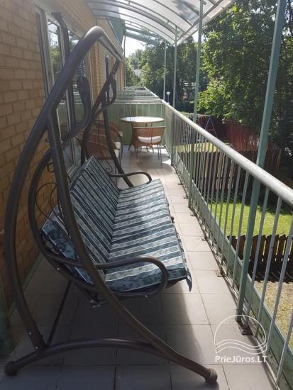 Nuomojamas 70 kv.m., 3 kambarių butas su pirtimi (sauna) Palangos centre - 3