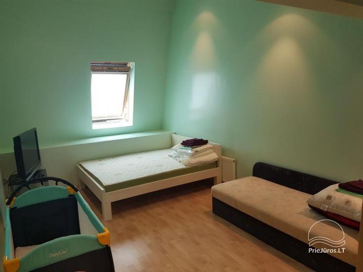 Nuomojamas 70 kv.m., 3 kambarių butas su pirtimi (sauna) Palangos centre - 10