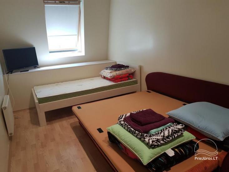 Nuomojamas 70 kv.m., 3 kambarių butas su pirtimi (sauna) Palangos centre - 11