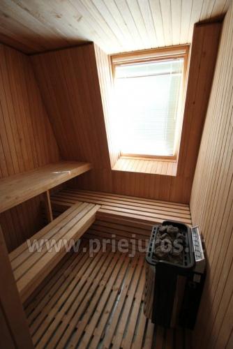 Nuomojamas 70 kv.m., 3 kambarių butas su pirtimi (sauna) Palangos centre - 4