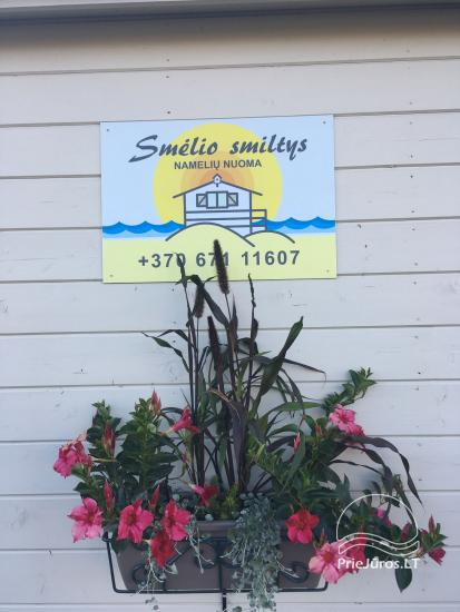 Smelio smiltys - Holiday houses for rent in Palanga (300 m. to the sea) - 16