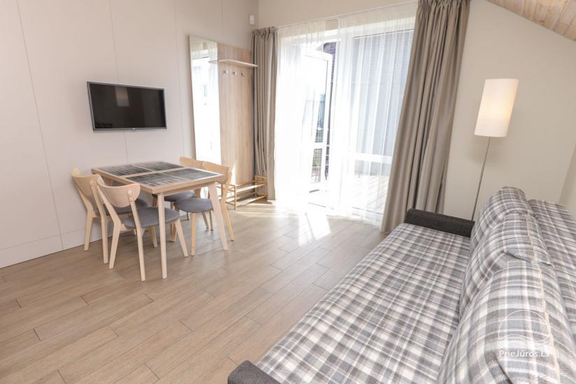 Apartamenti Palangā, 600 metri līdz pludmalei Villa Paula - 14