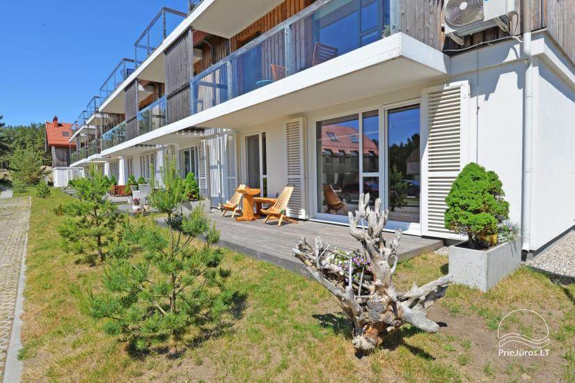 Two rooms apartments in Nida, Curonian Spit with terrace, swings for kids - 1