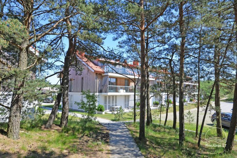 Zwei Zimmer Appartements in Nida, Kurische Nehrung mit Terrasse,Schaukeln - 14
