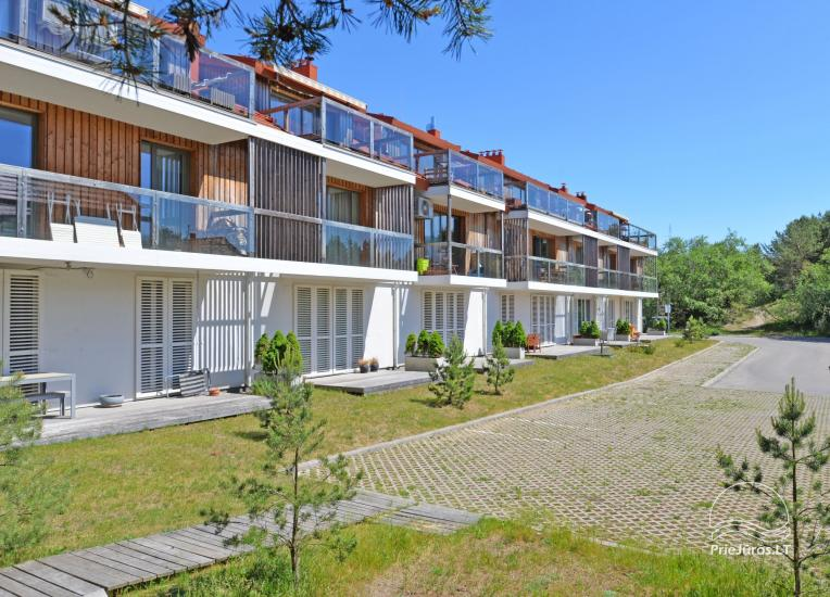 Two rooms apartments in Nida, Curonian Spit with terrace, swings for kids - 10