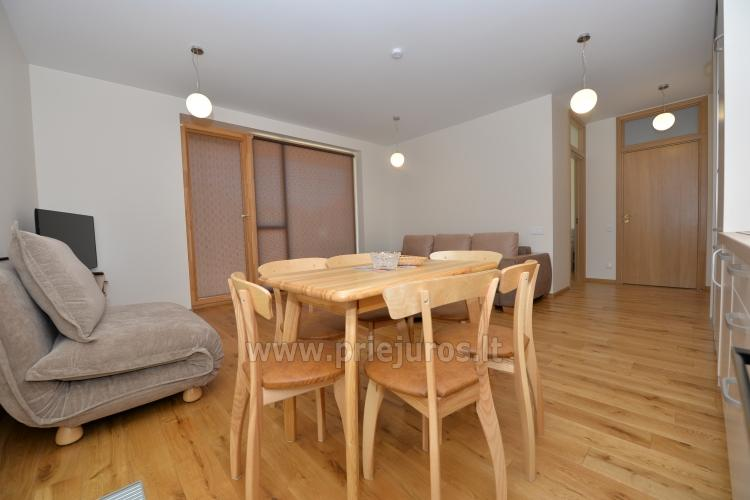Two rooms apartments in Nida, Curonian Spit with terrace, swings for kids - 4
