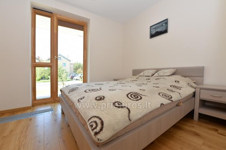 Two rooms apartments in Nida, Curonian Spit with terrace, swings for kids - 7