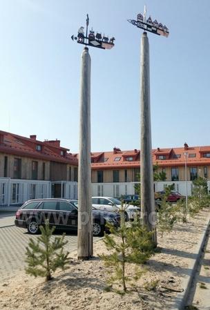 Zwei Zimmer Appartements in Nida, Kurische Nehrung mit Terrasse,Schaukeln - 13