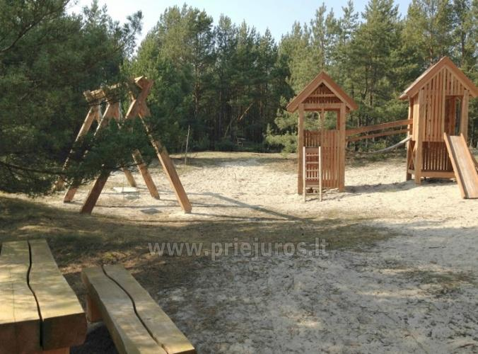 Two rooms apartments in Nida, Curonian Spit with terrace, swings for kids - 11