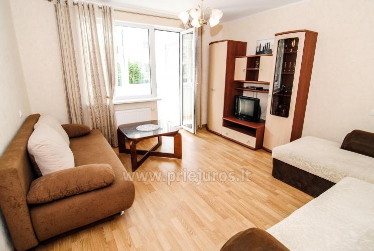 2-jų kambarių butas Šventojoje (iki 8 asmenų). 200 metrų iki jūros