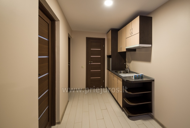Apartment with kitchen, terrace, balcony