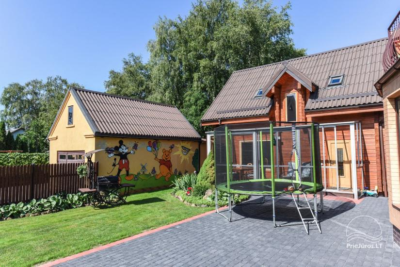 Villa Dalija - HOUSE FOR 2 FAMILIES, modern rooms for 3-4-5-6 persons with kitchens in the old town of Palanga 500 meters from the sea - 5