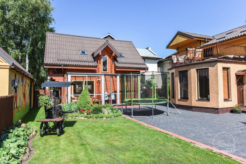Villa Dalija - HOUSE FOR 2 FAMILIES, modern rooms for 3-4-5-6 persons with kitchens in the old town of Palanga 500 meters from the sea - 4