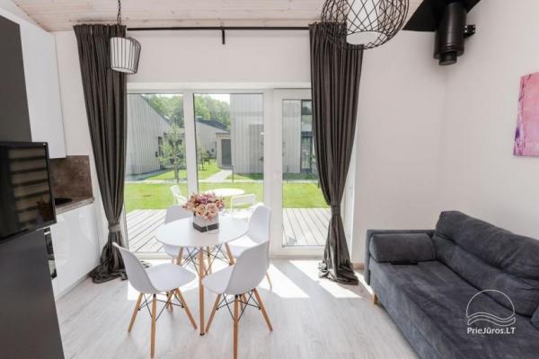 Naujos statybos išskirtiniai apartamentai Palangoje, Kunigiškėse