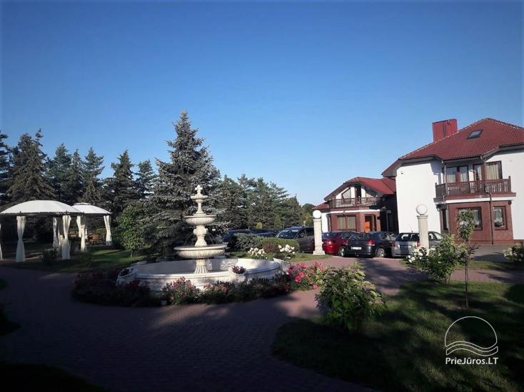 LINGIŲ SODYBA prie Klaipėdos - pobūvių salės šventėms, apgyvendinimas, pirčių kompleksas - 1