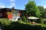 """Drei-Zimmer-Wohnung """"Sima"""" mit einem privaten Garten,Kamin,Wifi"""