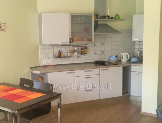 Mājīgs, jaunu dzīvokli (50 kv. m) īre Palangā - 2