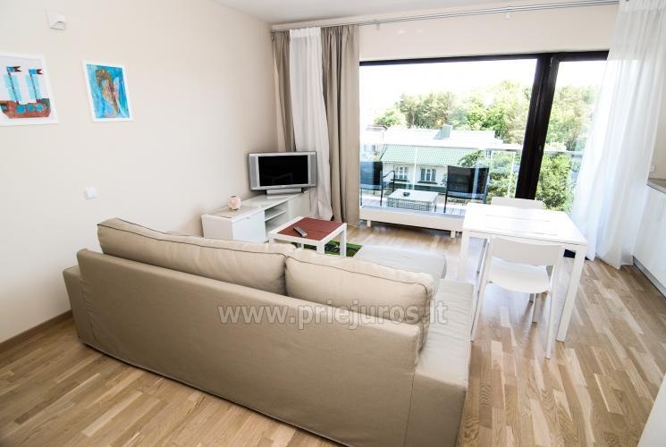 Vieno kambario butas su dideliu balkonu Palangoje - 2