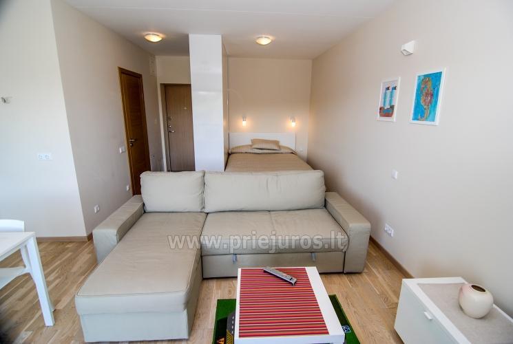 Vieno kambario butas su dideliu balkonu Palangoje - 3