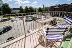2-room condo for rent in Palanga: balcony, washing machine; close to the downtown