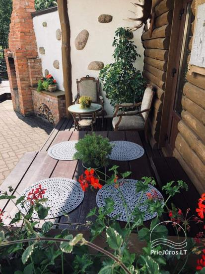 Holiday house with terrace for rent in Kunigiskiai - 7