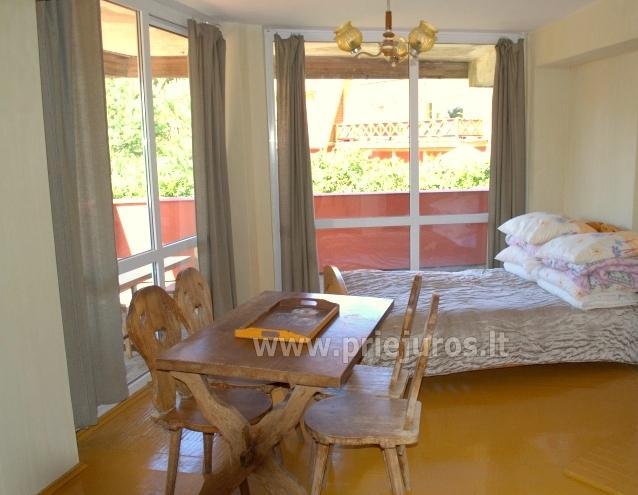 3-6vt kambariai poilsio namai Aukuras: balkonai, virtuvės, WC, dušai - 5