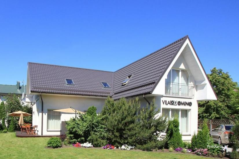 Rooms and apartments in Palanga in a guest house VILA DOMINO – 400 m to the sea, close to the center - 2