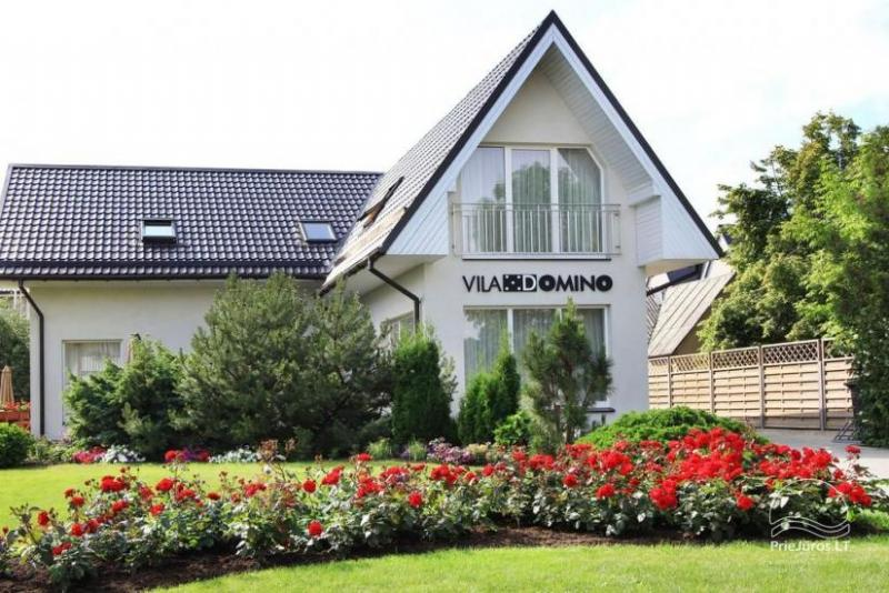 Rooms and apartments in Palanga in a guest house VILA DOMINO – 400 m to the sea, close to the center
