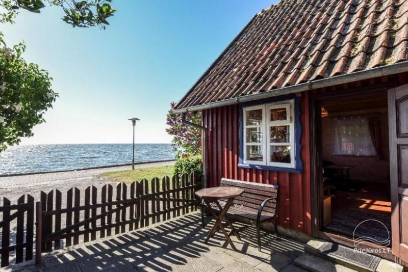 Flat, cottage and log-hut Rent in Nida