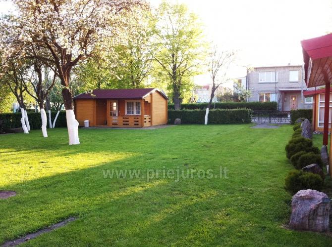 Namelių nuoma Šventojoje: terasa, vaikų žaidimų aikštelė, WiFi, dviračiai - 5