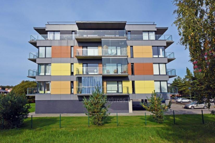 Apartamentų nuoma Palangoje, netoli jūros, Vanagupės gatvėje - 1